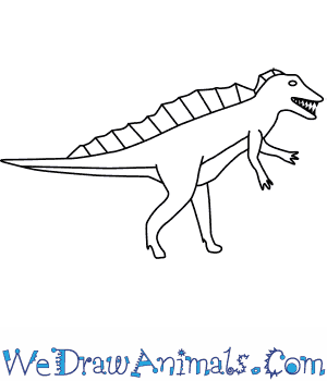 How to Draw an Acrocanthosaurus in 6 Easy Steps