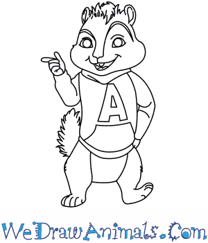 How to Draw  Alvin And The Chipmunks in 8 Easy Steps