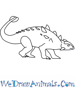 How to Draw an Ankylosaurus in 6 Easy Steps