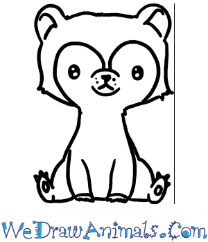 How to Draw a Baby Bear in 4 Easy Steps