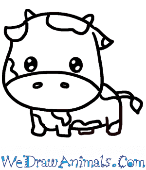 How to Draw a Baby Cow in 7 Easy Steps