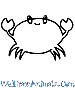 How to Draw a Baby Crab in 4 Easy Steps