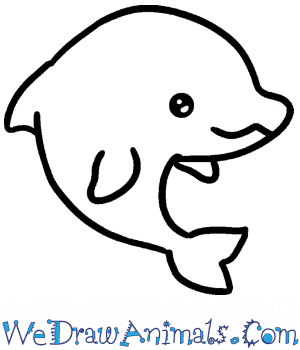 How to Draw a Baby Dolphin in 4 Easy Steps