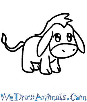 How to Draw a Baby Donkey in 5 Easy Steps