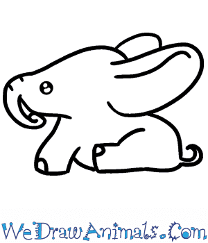 How to Draw a Baby Elephant in 4 Easy Steps