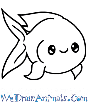 How to Draw a Baby Fish in 4 Easy Steps