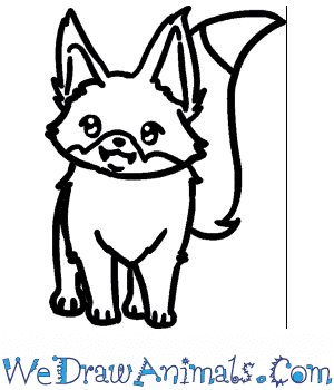 How to Draw a Baby Fox in 5 Easy Steps