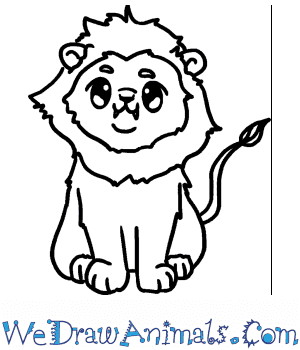 How to Draw a Baby Lion in 5 Easy Steps
