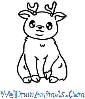 How to Draw a Baby Reindeer in 5 Easy Steps