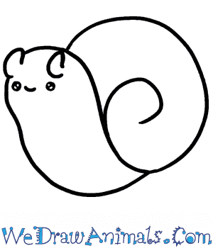 How to Draw a Baby Snail in 3 Easy Steps