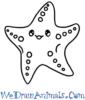 How to Draw a Baby Starfish in 4 Easy Steps