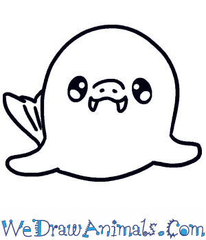 How to Draw a Baby Walrus in 3 Easy Steps