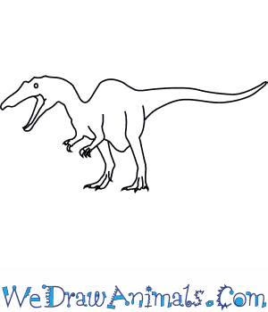 How to Draw a Baryonyx in 6 Easy Steps