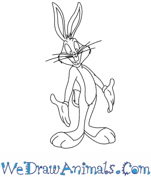How to Draw  Bugs Bunny in 8 Easy Steps
