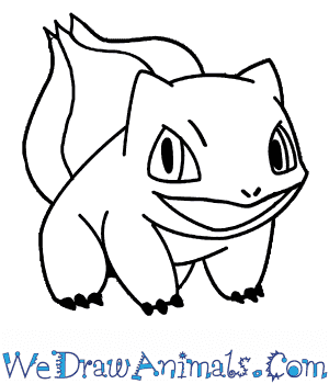 How to Draw  Bulbasaur in 7 Easy Steps