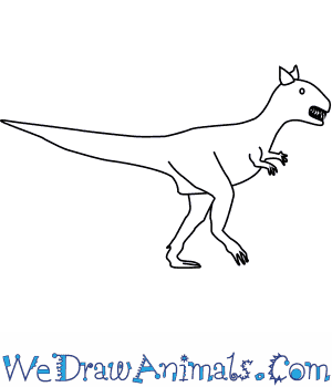 How to Draw a Carnotaurus in 6 Easy Steps