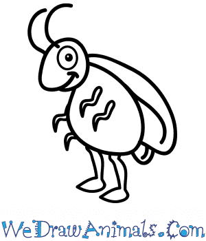 How to Draw a Cartoon Cockroach in 6 Easy Steps