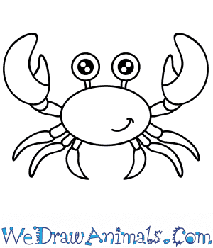 How to Draw a Cartoon Crab in 5 Easy Steps