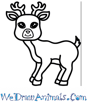 How to Draw a Cartoon Deer in 9 Easy Steps