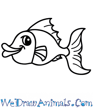 How to Draw a Cartoon Fish in 7 Easy Steps