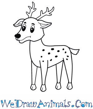 How to Draw a Cartoon Reindeer in 7 Easy Steps