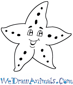 How to Draw a Cartoon Starfish in 5 Easy Steps
