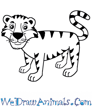 How to Draw a Cartoon Tiger in 7 Easy Steps