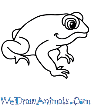 How to Draw a Cartoon Toad in 5 Easy Steps