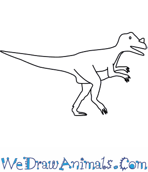 How to Draw a Ceratosaurus in 5 Easy Steps