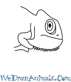 How to Draw a Chameleon Head in 7 Easy Steps