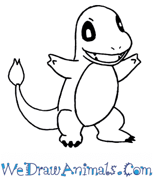 How to Draw  Charmander in 7 Easy Steps
