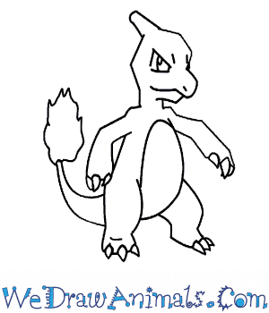 How to Draw  Charmeleon in 7 Easy Steps