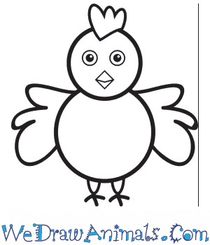 How to Draw a Chicken For Kids in 7 Easy Steps
