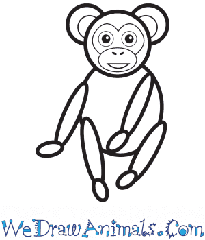 How to Draw a Chimpanzee For Kids in 8 Easy Steps