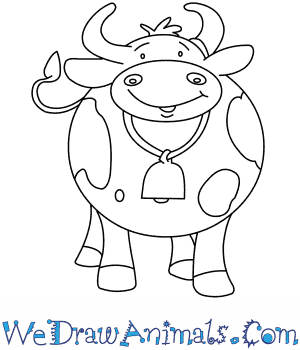 How to Draw  Clarabelle Cow in 7 Easy Steps