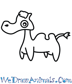 How to Draw a Cute Camel in 3 Easy Steps