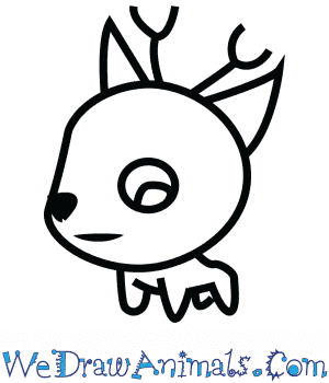 How to Draw a Cute Deer in 5 Easy Steps
