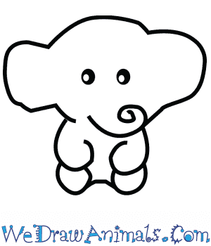 How to Draw a Cute Elephant in 4 Easy Steps