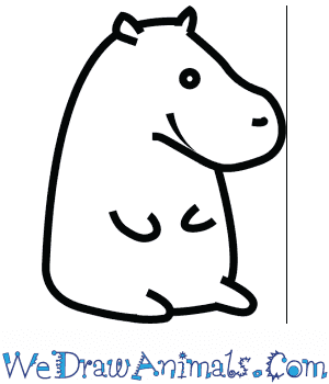 How to Draw a Cute Hippopotamus in 4 Easy Steps