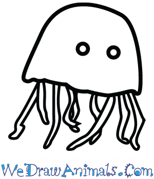 How to Draw a Cute Jellyfish in 3 Easy Steps