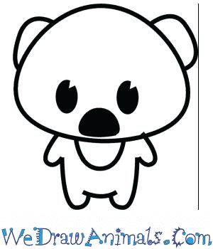 How to Draw a Cute Koala in 3 Easy Steps