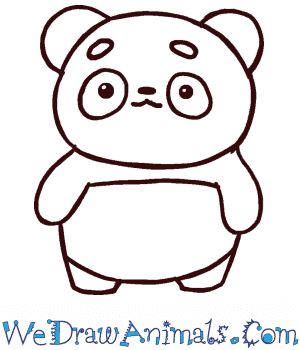 How to Draw a Cute Panda in 4 Easy Steps