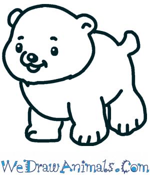 How to Draw a Cute Polar Bear in 5 Easy Steps