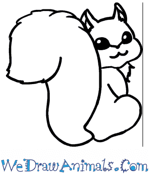 How to Draw a Cute Squirrel in 4 Easy Steps