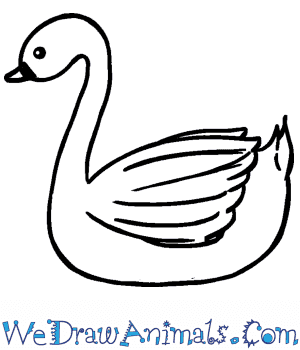 How to Draw a Cute Swan in 5 Easy Steps