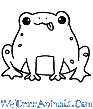 How to Draw a Cute Toad in 6 Easy Steps