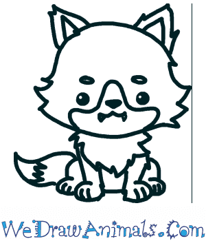 How to Draw a Cute Wolf in 5 Easy Steps