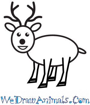 How to Draw a Deer For Kids in 6 Easy Steps