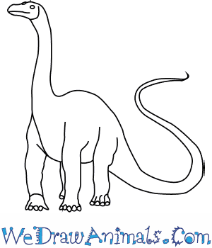 How to Draw a Diplodocus in 5 Easy Steps