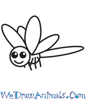 How to Draw a Dragonfly For Kids in 7 Easy Steps